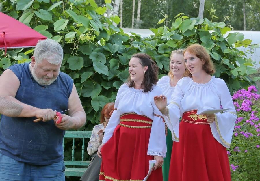 Новгородские художники на пленэре
