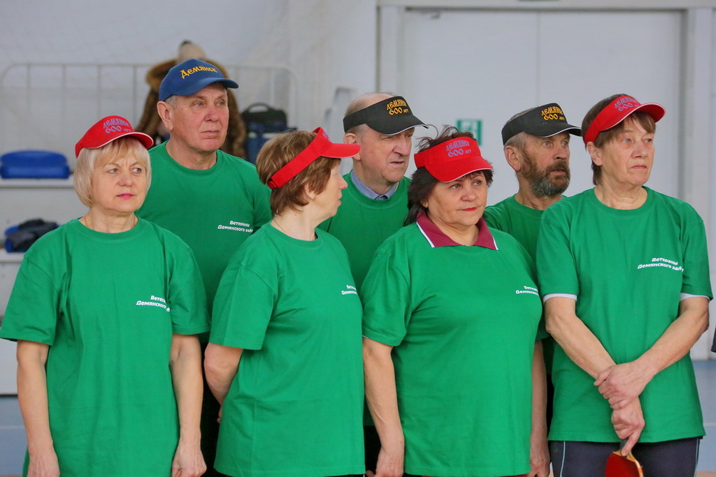 Спартакиада ветеранов