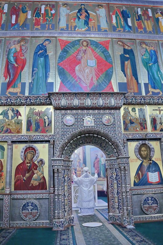 Крещение. Валдайский Иверский монастырь