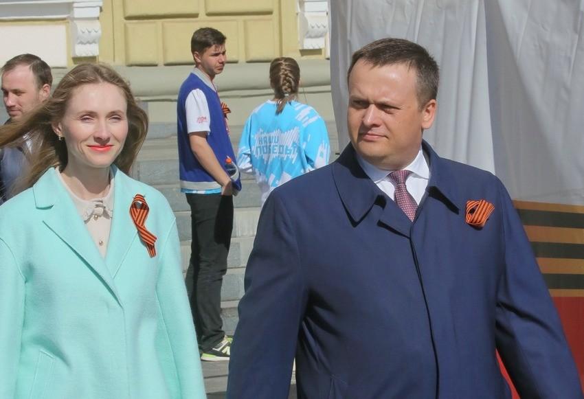 А. Никитин с супругой