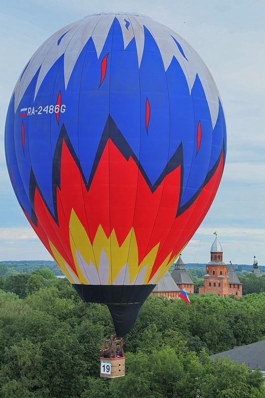 Великий Новгород, фестиваль воздухоплавания